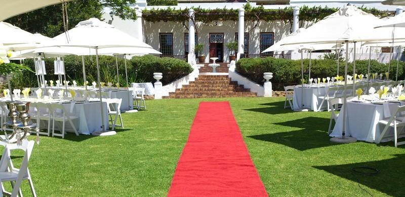Welgemeend Venue Cape town Red Carpet