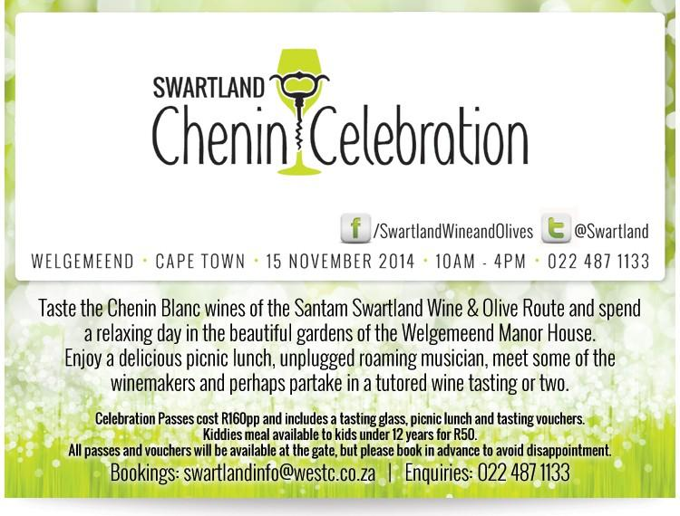 Swartland Wine – Chenin Celebration