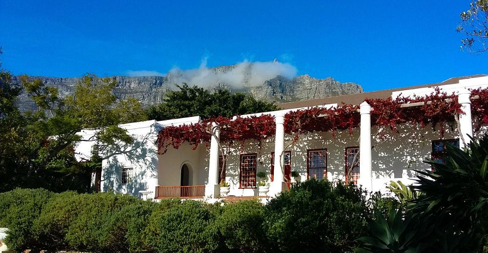 Welgemeend Venue with Table Mountain view