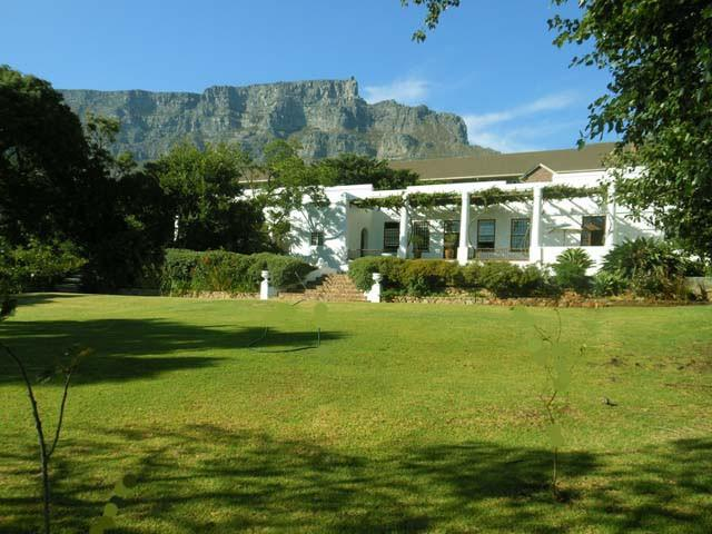 Welgemeend Venue with Table Mountain in the Background