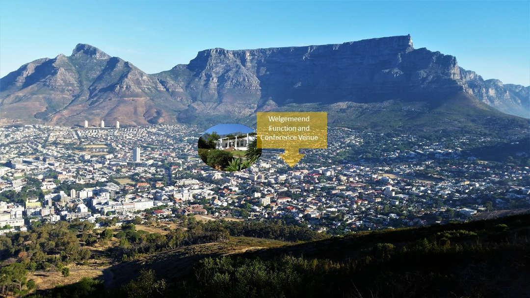 Welgemeend is located in the Cape Town City Bowl