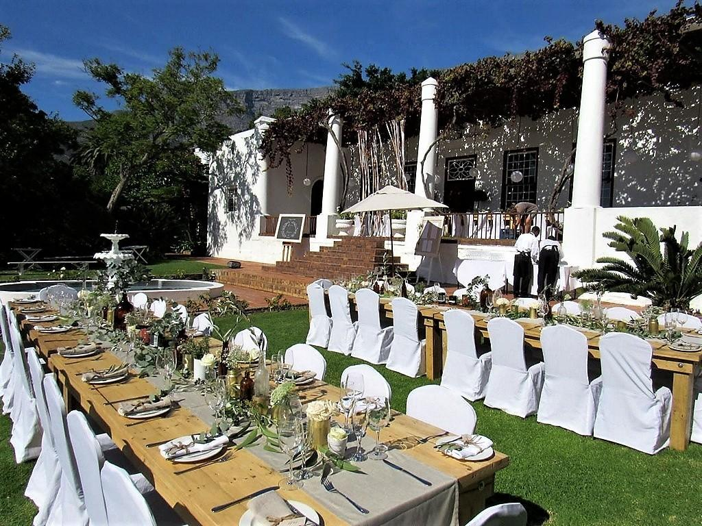 Welgemeend garden wedding venue