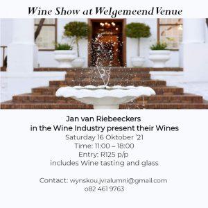Welgemeend Wine Show